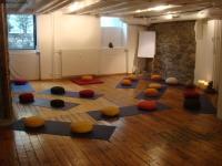 Salle de pratique MBSR