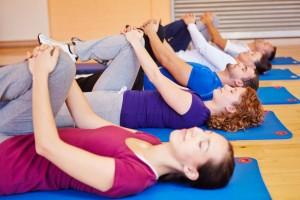 Groupe de pratique de yoga